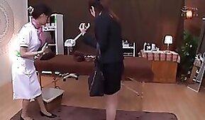 Beautiful nuru massage of Japanese girl who eats it like a goddess