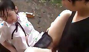 Chubby teen Emily naughty schoolgirl horny girlboy in uniform