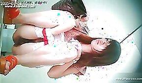 Chinese nurse masturbates on webcam