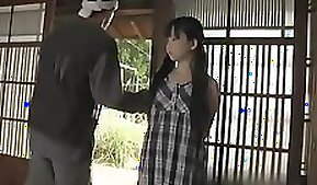 Bosomy Asian whore Gina Marucci gets her young wet cunt fucked in doggy position hard