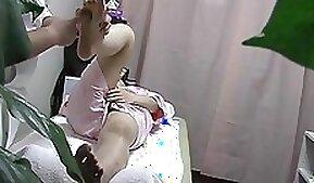 Big booty latina caught on spy cam